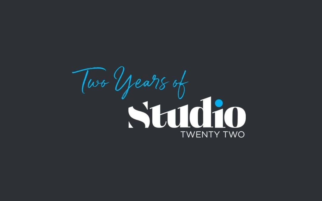 Happy Birthday Studio22!